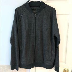 Banana Republic men's zip up sweater